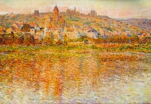 CLAUDE MONET - Vetheuil in estate