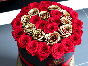 Foto van flower box Golden Heart Trim
