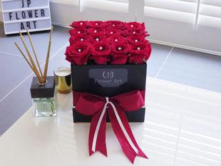 Foto van flower box red square
