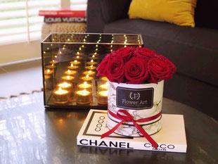Foto van flower box Marble Red Mini