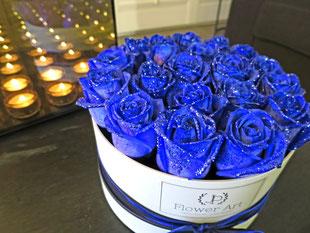 Foto van flower box: Sparkling Blue