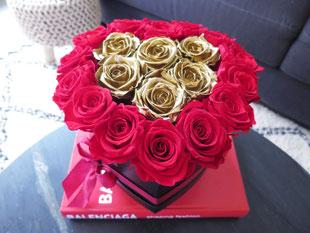 Foto van flower box Long Life Red & Gold