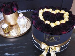 Foto van Flower Box: Black Charm