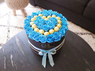 Foto van flower box Blue Shimmer
