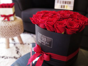 Foto van flowerbox Heartbox Red