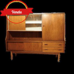 Enfilade, haute, scandinave, sideboard,1960,1950,teck