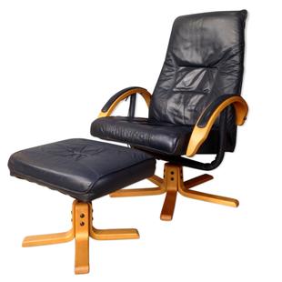 fauteuil inclinable design,fauteuil inclinable danemark,fauteuil inclinable vintage,fauteuil pivotant,pied étoile,moderne,vintage,fauteuil design en cuir, jorgen kastholm,danois, fauteuil scandinave,fauteuil de salon