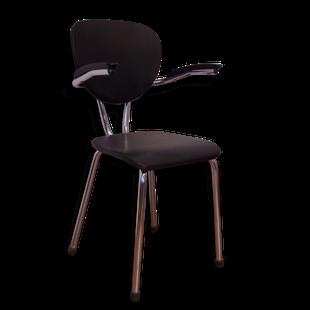 chaise,fauteuil,bureau,1950,1960,vintage,simili,cuir,skai;50,60,rétro,indus