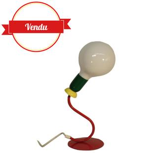 Lampe Esto metal colorée vintage