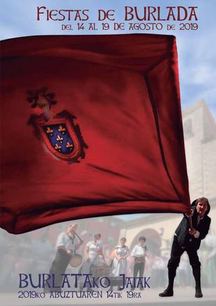 Fiestas de Burlada 2015 Cartel y programa