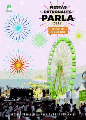 Fiestas de PArla 2015 Cartel y Programa