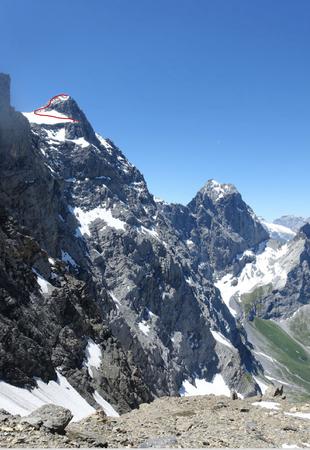 Gross Ruchen Nordwand, Bergtour, Hochtour, Uri, Klausenpass, Ruchchälenpass, Gross Windgällen, Wandausstieg
