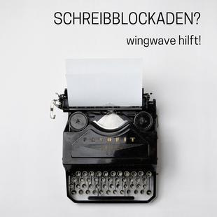 wingwave Hamburg - Schreibblockaden