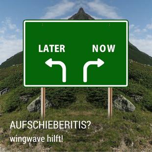 wingwave Hamburg - Aufschieberitis