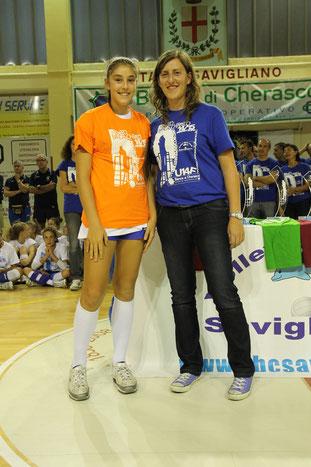 Miglior Difesa : Giulia PEJRANI   (In-Volley Cambiano Chieri)
