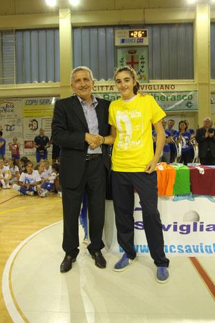 Miglior Battuta : Chiara SOFFIENTINO (VBC Savigliano)