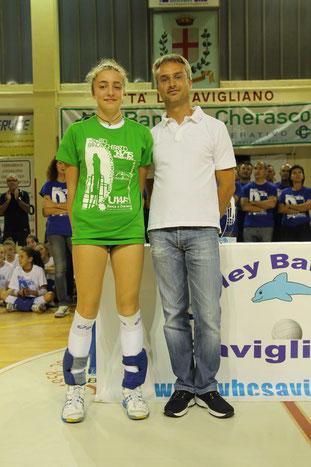 MVP del Torneo : Ester GALLINA  (L'albavolley)