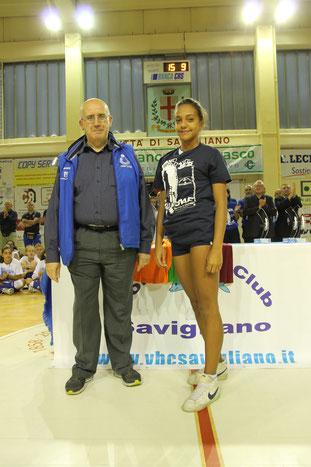 Miglior Muro  : Camilla ROSSO (Volley Saluzzo)