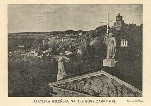 Arkikatedra Bazilika 1918m. / The Cathedral in 1918 (Phot. J. Bulhak)