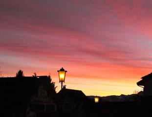 06. Januar 2014 - Morgenrot bringt Wind und Kot