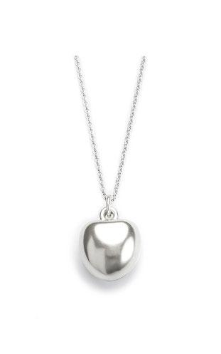 Silberkette mit Herzamulett
