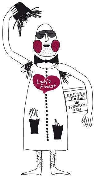 Lady's Finest / Frauen-Liebling - www.PIXELROHKOST.de