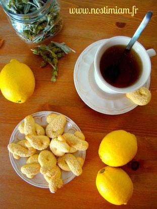 """""""koulourakia"""" au citron"""