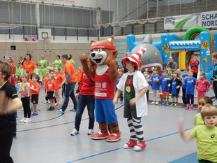 Kindergartensporttag 03.02.2016