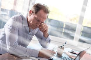 Müdigkeit Konzentrationsschwierigkeiten Burnout