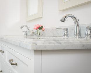 bathroom remodel, tile floor, tile shower, glass shower door, residential remodel, paint, water damage repair, fire damage repair, repairs, restoration, bathroom