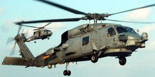 hélicoptère SH 60 SEA HAWK