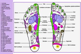 Réflexologie massage des pieds gran canaria