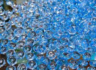 Glasperlen, mineralische Strahlmittel