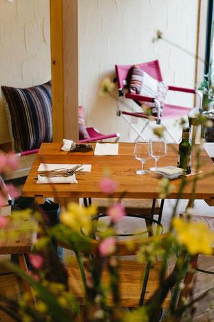 イタリアンレストラン 店舗用テーブル