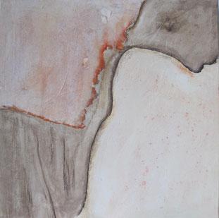 Nrr. 2010-HO-005, 60 x 60 cm, Acryl auf MDF