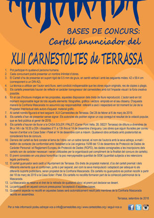 Programa del Carnaval de Terrassa