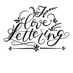 Eine kleine Liebeserklärung an die Buchstaben