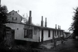 dudweiler, wohnungsnot, baracken, kittenbaracken, auf den kitten, 1930