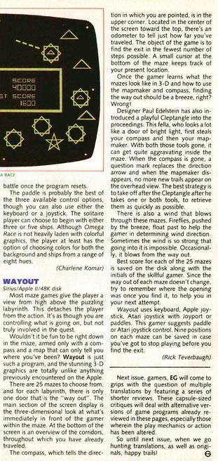 Wayout (Atary 8 bit)