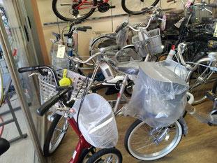 各メーカーの三輪自転車