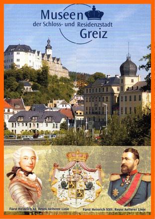 Die Geschichte der Stadt geht auf die Linie Reuss zurück
