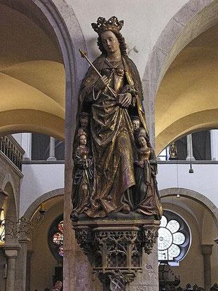 Statue der Hl. Ursula