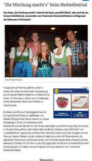 Herbstfest Daisendorf