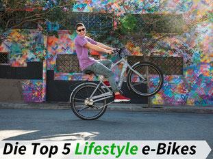 Die besten Urban & Lifestyle e-Bikes 2021