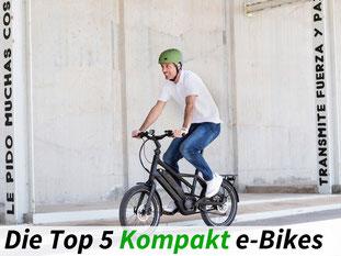 Die besten Kompakt e-Bikes 2021