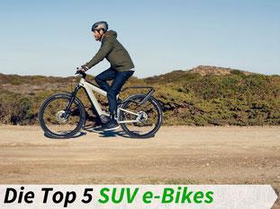 Die besten SUV e-Bikes 2021