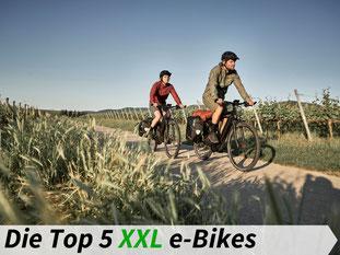 Die besten XXL e-Bikes 2021
