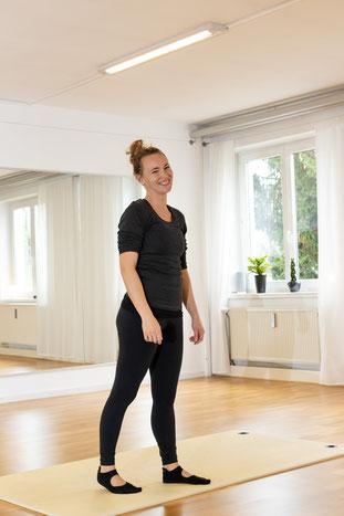 Kristina Wagner Inhaberin des Pilatesstudios Kristina Wagner in Obergünzburg im Allgäu