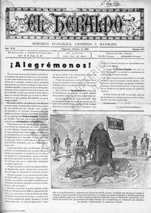 """""""El Heraldo"""", 591, 2-1936 ( Quelle: Biblioteca Virtual de Premsa Histórica)"""