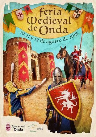 Programa de la Fira Medieval de Onda